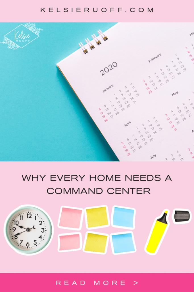 Command Center Pin