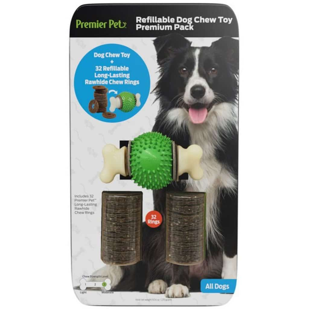 Refillable Dog Chew Toy