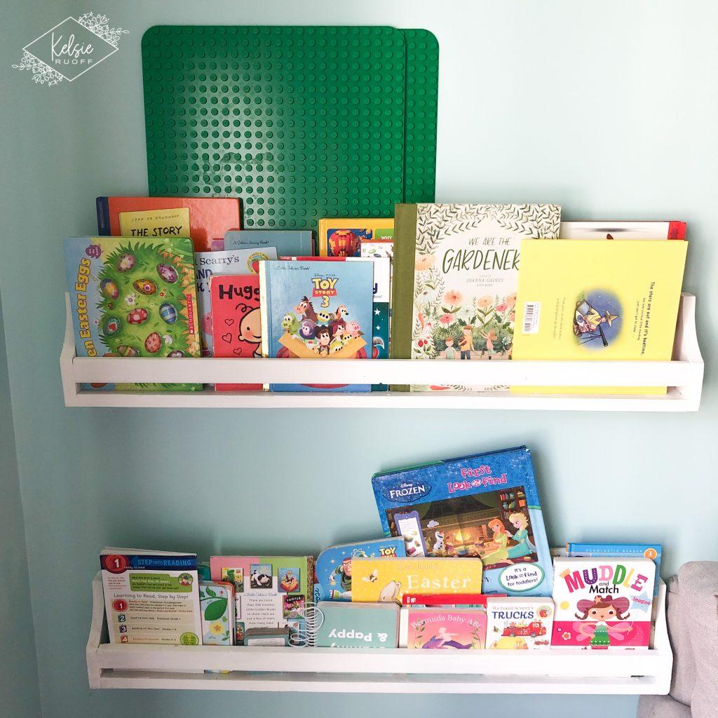 Ana White Inspired Bookshelves