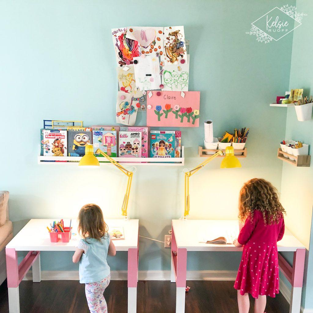 IKEA Playroom Desks