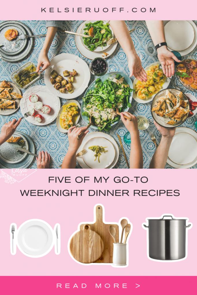 Weeknight Dinner Recipe Pin
