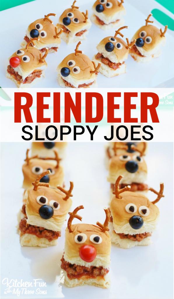 Reindeer Sloppy Joes