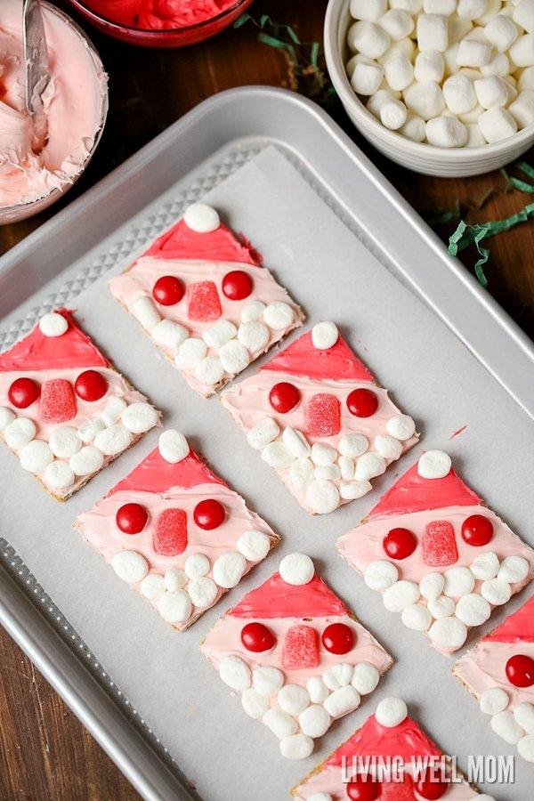 Santa Graham Cookies