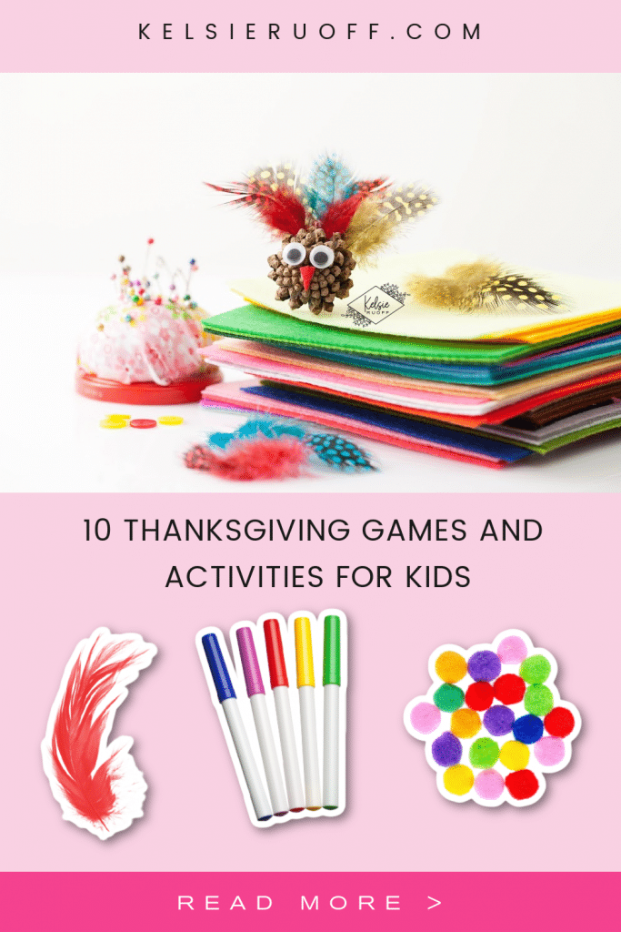 Thanksgiving Games & Activities For Kids