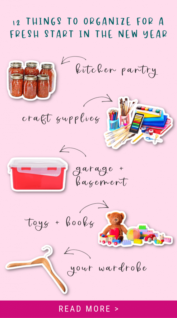 12 Things to Organize Pin