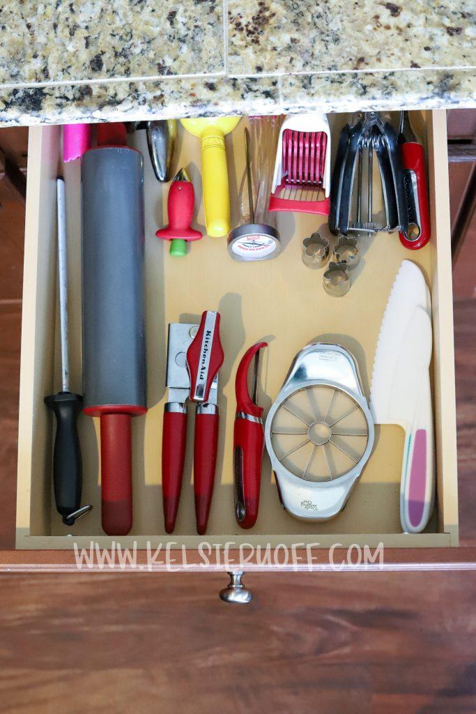 Kitchen Gadget Drawer